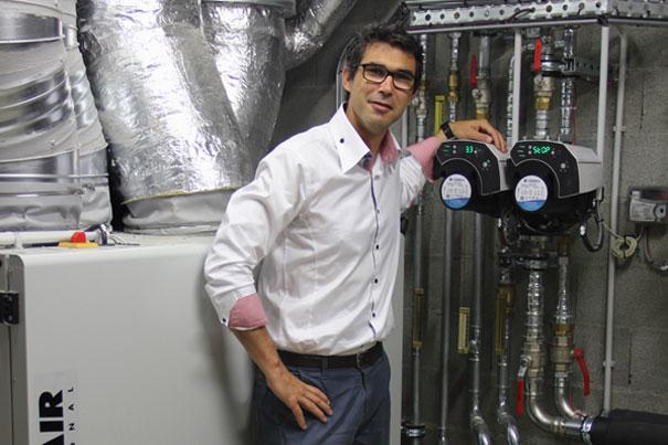 GTC innovante par AJS Energie présidée par Marc Vigneras